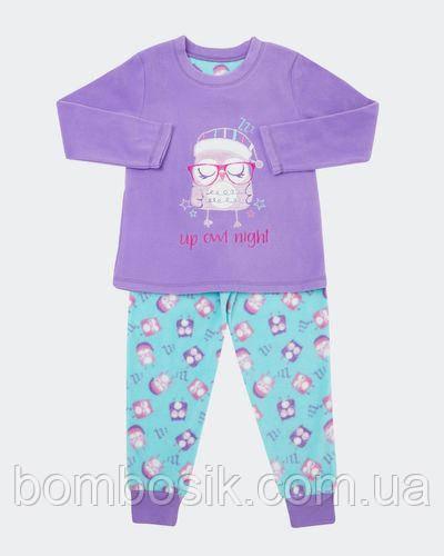 Пижама флисовая Dunnes для девочки, 7-8л (122-128см)