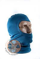 Балаклава трикотажна синя за ціною виробника