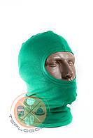 Балаклава трикотажна зелена за ціною виробника