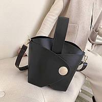 Женская сумочка из кожзама, классическая сумка FS-3716-10, фото 1