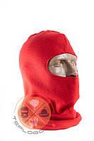 Балаклава флісова червона тепла за ціною виробника, фото 1