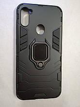 Чехол Samsung A11/M11 Terminator Ring Black