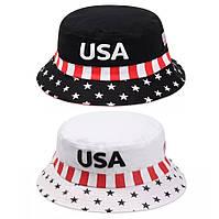 Панама Флаг USA (Америка) 2, Унисекс, фото 1