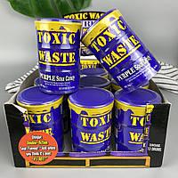 Самые кислые леденцы Токсик Вейст в Фиолетовой бочке Toxic Waste Purple Drum 42 г
