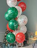 """Латексна кулька з малюнком Merry Christmas 12"""" Малазія KDI асорті """"Sharoff"""", фото 2"""