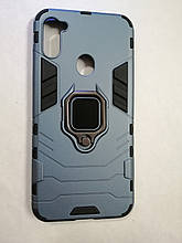 Чехол Samsung A11/M11 Terminator Ring Blue