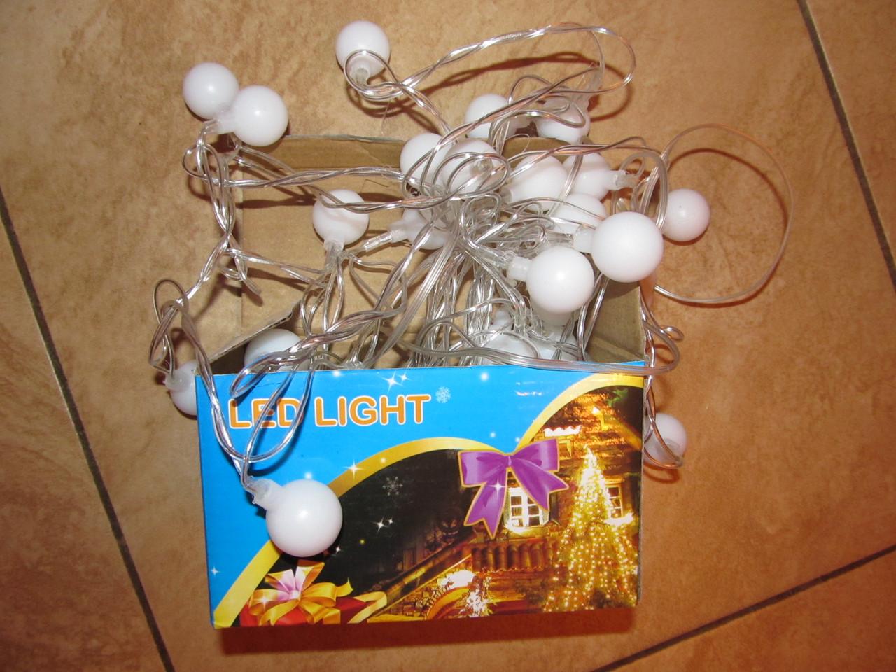 Гирлянда «шарики» 5 метров 40 led.