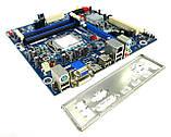 НАДЕЖНАЯ Материнская ПЛАТА s1156 INTEL DH55TC на DDR3  с HDMI ВИДЕО и ГАРАНТИЕЙ LGA 1156, фото 2