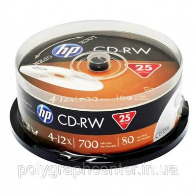Диски CD-RW 80 HP 700MB 4x-12x