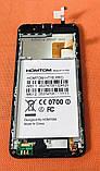 LCD дисплей + сенсор + рамка для Homtom HT16, фото 2