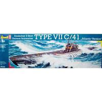 Сборная модель Revell Подводная лодка U-Boot Typ VIIC/41 1:144 (5100)