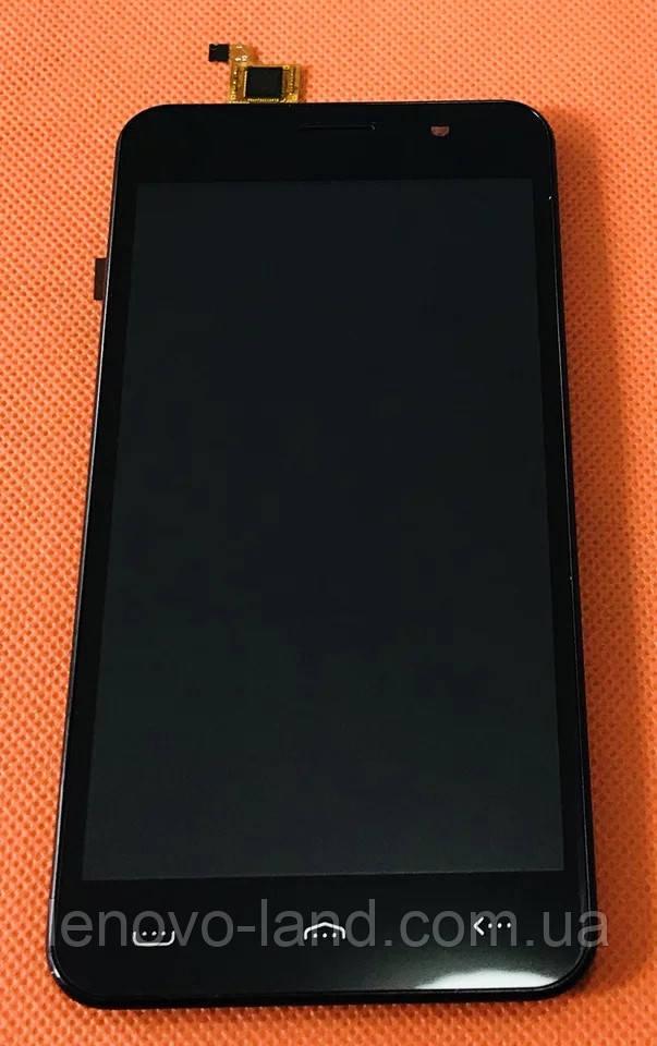 LCD дисплей + сенсор + рамка для Homtom HT16