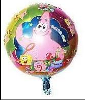 """Фольгована кулька коло Патрік з Губки Боб 18"""" Китай"""