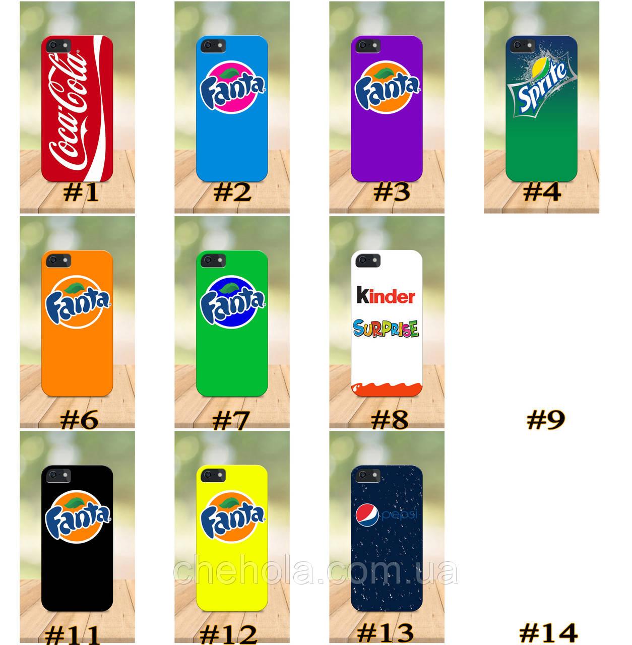 Чехол на iPhone 5 5s SE 4 4S бампер накладка с принтом бампер накладка с принтом Coca cola чехол кока кола