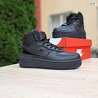 Женские зимние кроссовки стиле Nike Air Force 1 Shadow, фото 1