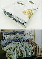 """Двуспальные постельные комплекты Фланель  """"Букет"""", фото 1"""