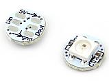 Модуль круглый со светодиодом RGB WS2812B Белый, фото 4