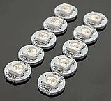 Модуль круглый со светодиодом RGB WS2812B Белый, фото 5
