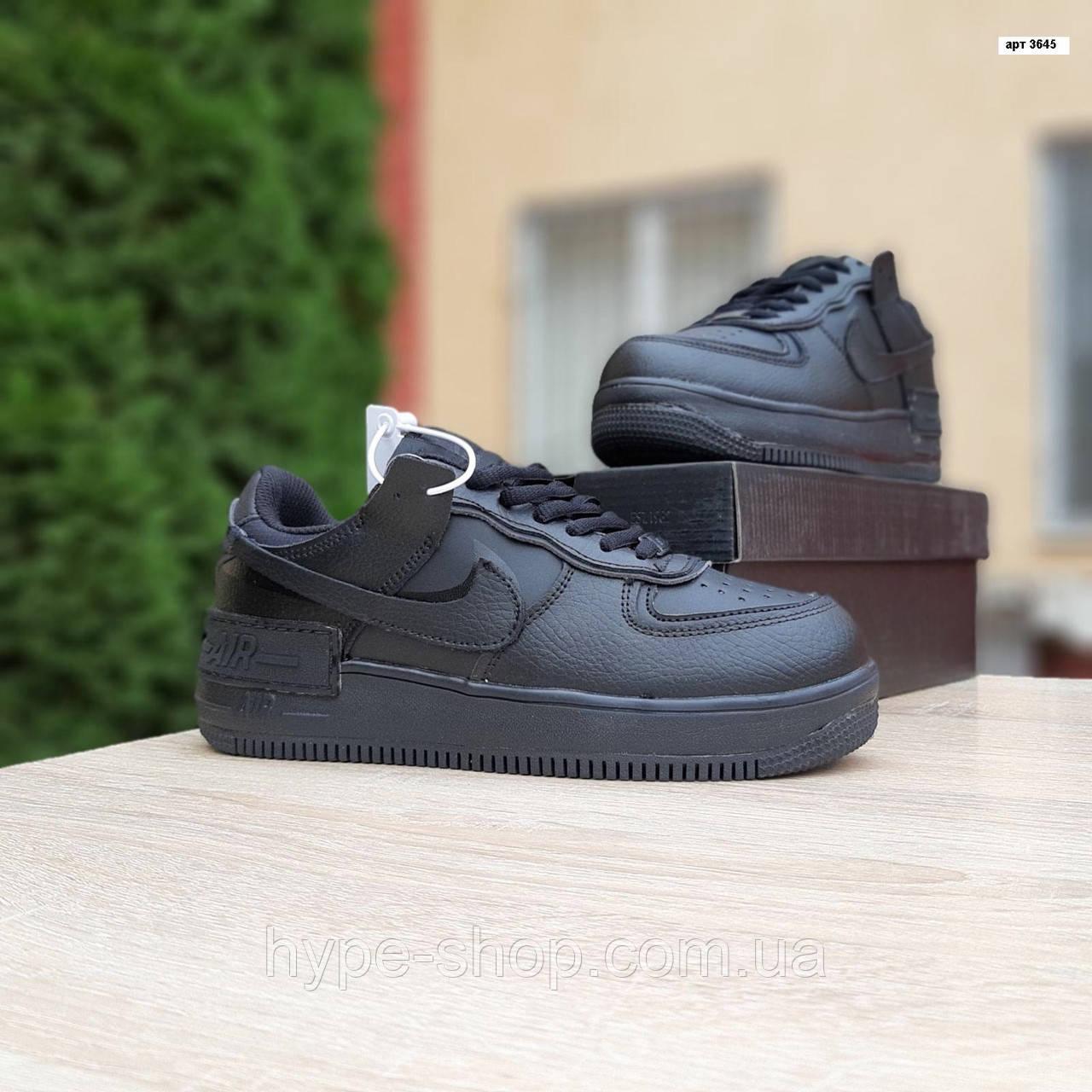 Жіночі зимові кросівки стилі Nike Air Force 1 Mid