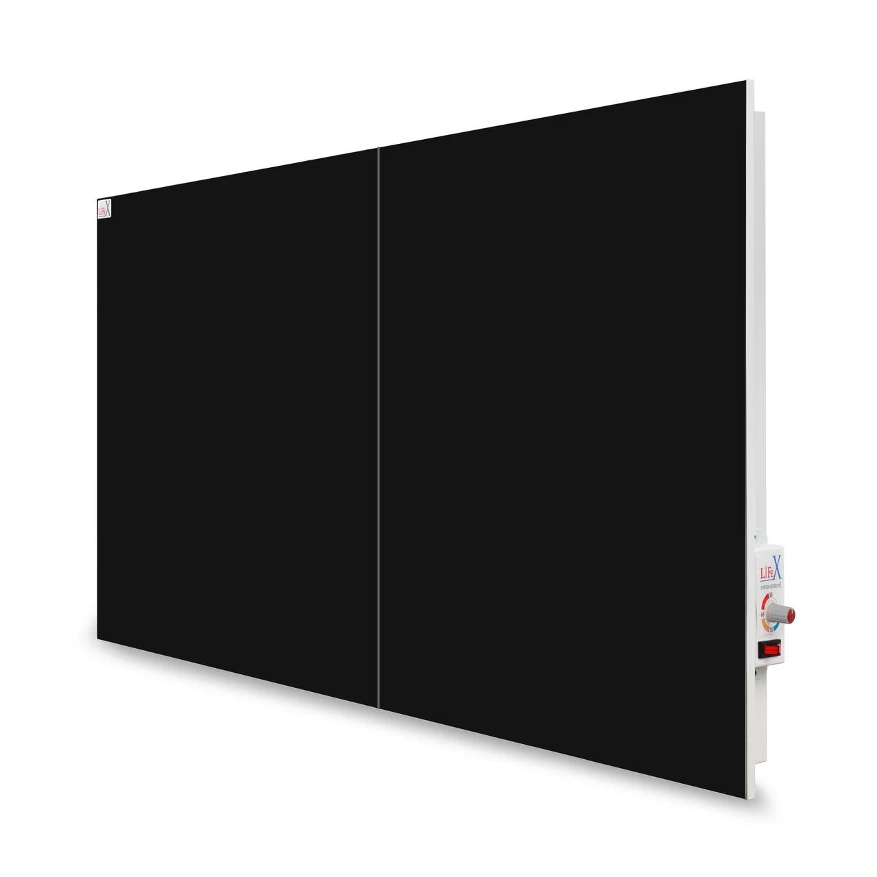 Керамическая панель отопления LIFEX КОП800R (черный)