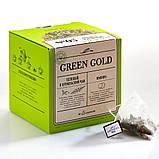 Фиточай Green Gold  Омолаживающий чайный напиток в пирамидках 20 шт, фото 3