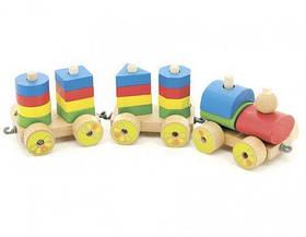 """Деревянная игрушка """"Паровозик"""" Д163 [der116226-TSI]"""