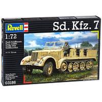 Сборная модель Revell Полугусеничный тягач Sd.Kfz. 7 1:72 (3186)