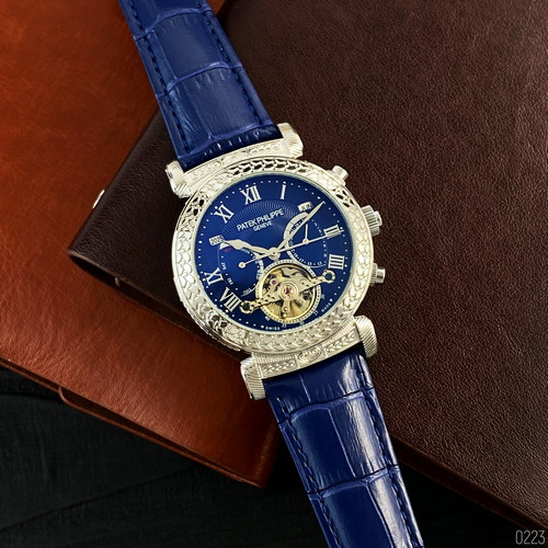 Patek Philippe Grand Complications (Blue-Silver-Blue)