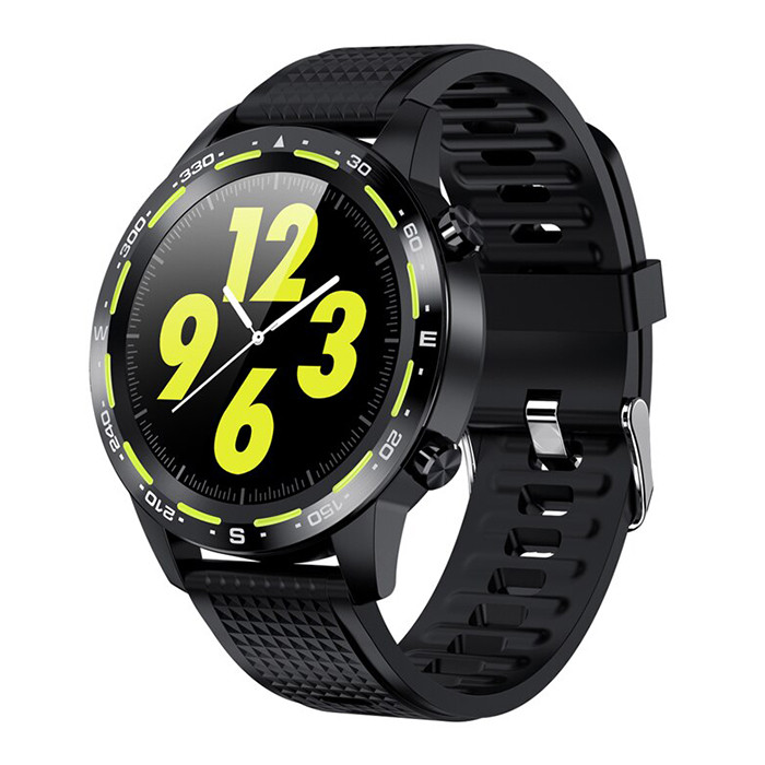 Смарт-часы Microwear L12 Black-Green