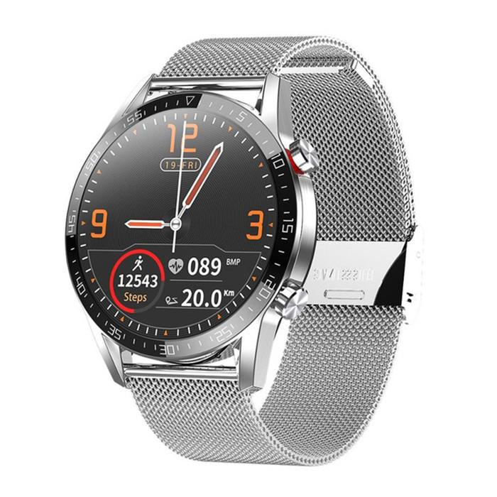 Смарт-часы Microwear L13 Steel Band Silver