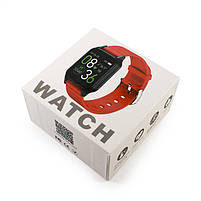 Смарт-часы T96 Temperature Black, фото 2