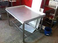 Стол производственный из нержавеющей стали, фото 1