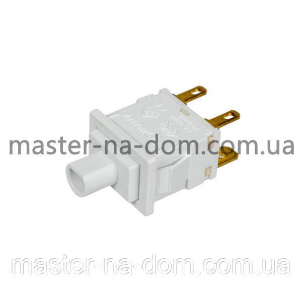 Мережева кнопка зі світлодіодом для пральної машини T85 250V 16A (4 контакти) Beko