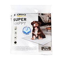Пеленки для собак Croci Super Nappy 10 шт (60 x 40см)