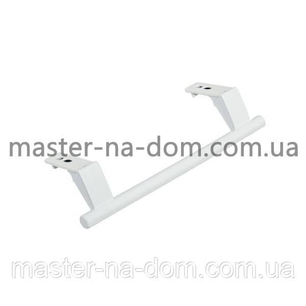 Ручка дверей верхня/нижня для холодильника L=245mm Liebherr білий ОРИГІНАЛ