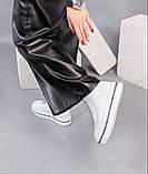 Зимние ботинки женские белые, фото 2
