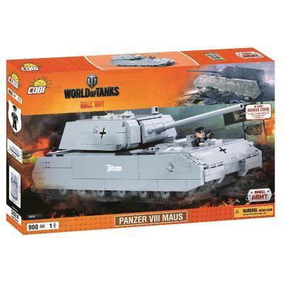 Конструктор Cobi World Of Tanks Maus, 900 деталей