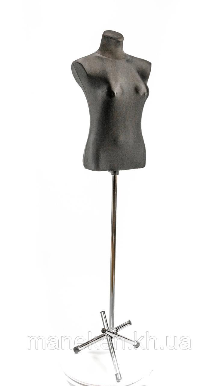 Маша в ткани (черный) для треноги