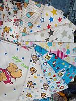 Набор пеленок для новорожденных 5 шт (материал на выбор)