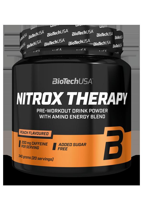 Предтреник BioTech Nitrox Therapy (340 г) биотеч нитрокс tropical fruit