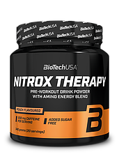 Предтреник BioTech Nitrox Therapy (340 г) биотеч нитрокс peach