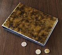 Альбом для монет и бон Супер Комби бриллиант золото