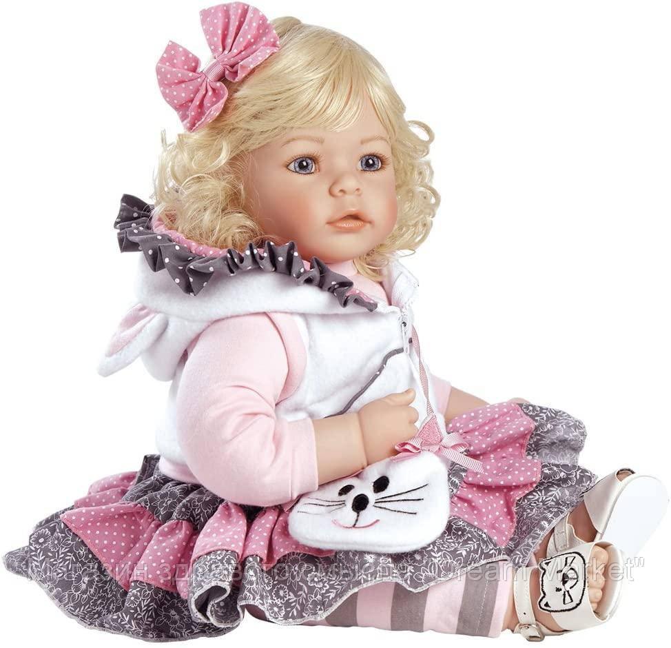 Коллекционная Кукла малышка Адора блондинка из винила с ароматом, высота 50 см - Adora Toddler Cat's Meow Doll