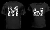 """Парные футболки """" М Ы """""""