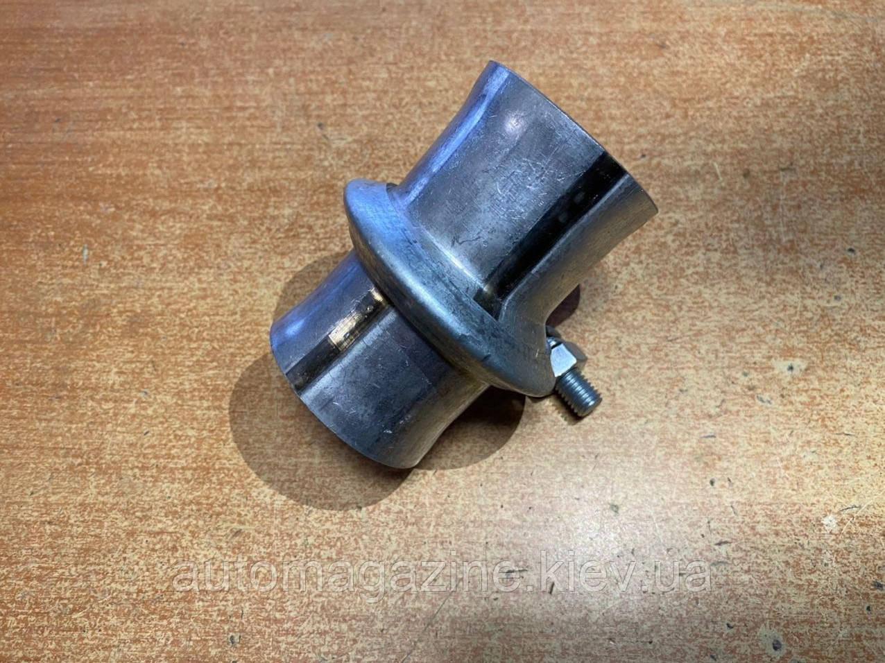 Хомут глушника з фланцями (55 мм)
