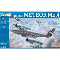 Сборная модель Revell Реактивный истребитель Gloster Meteor Mk.4 1:72 (4658)
