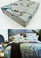 """Двуспальные постельные комплекты Фланель  """"Моника"""", фото 1"""