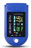 Пульсоксиметр на палец  TFT Blue электронный, фото 3