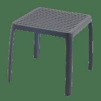 Столик для шезлонга Papatya Wave Антрацит, КОД: 1898832
