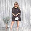 Платье вечернее а-силуетное люрекс 44-46,48-50,52-54,56-58, фото 5